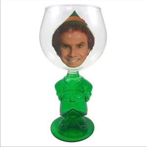 Other - NEW Buddy The Elf Molded Glass